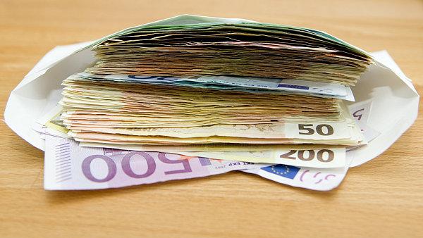 Reálné mzdy v Německu loni vzrostly nejvíc za sedm let - Ilustrační foto.