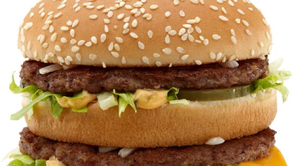 Menu s klasickým hamburgerem se do rozumného příjmu energie ještě vejde, cokoli navíc (jako v případě Big Macu) už je moc.