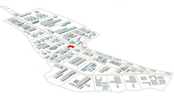 Mapa obsazen� Strategick� pr�myslov� z�ny Hole�ov