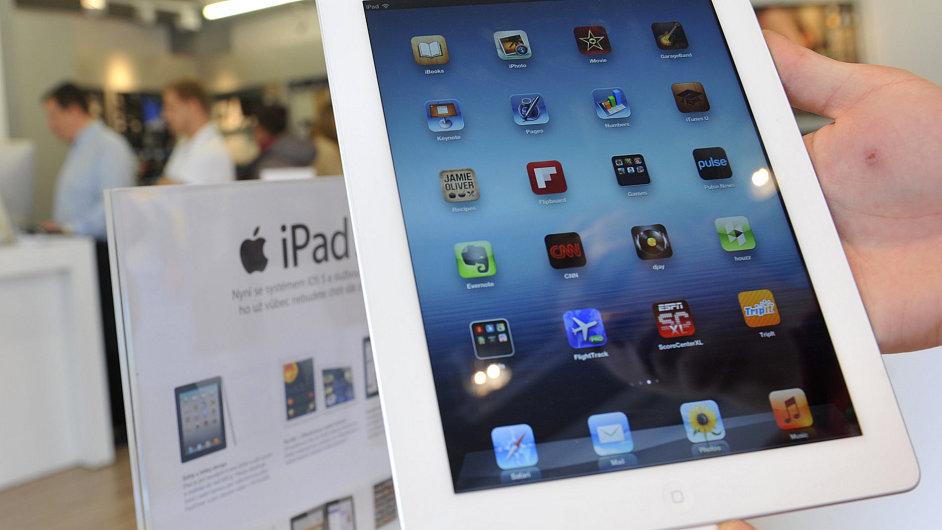 Třetí generace tabletu iPad.