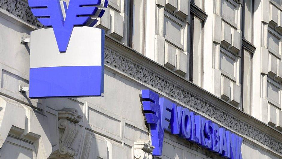 Pobočka banky Österreichische Volksbanken.