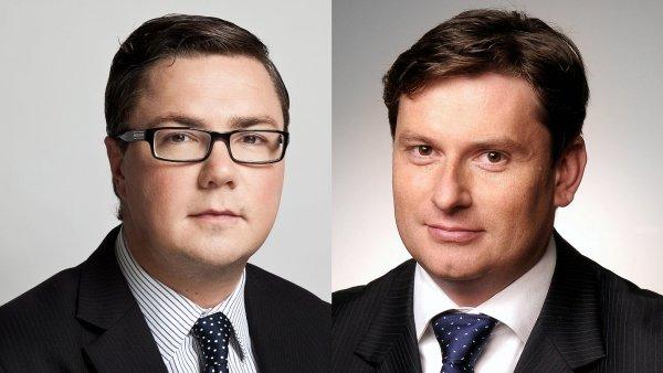 Stuart Jordan, vedoucí realitních investic pro Českou republiku, a Pavel Schanka, vedoucí správy nemovitostí pro Českou republiku a region střední Evropy, z pražská pobočky Jones Lang LaSalle.