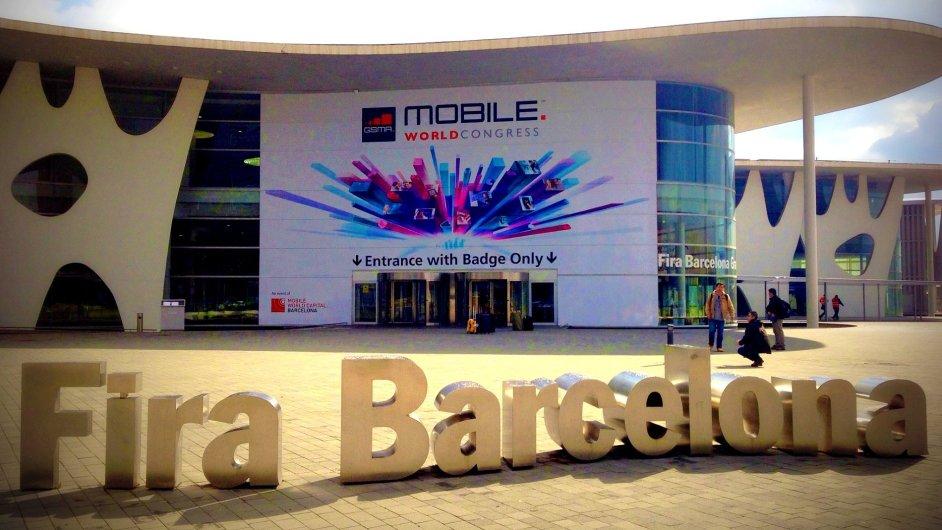 Mobile World Congress 2013 na výstavišti Fira Gran Via v Barceloně