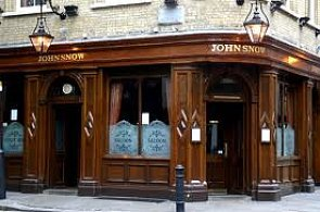John Snow pub in Broadwick Street