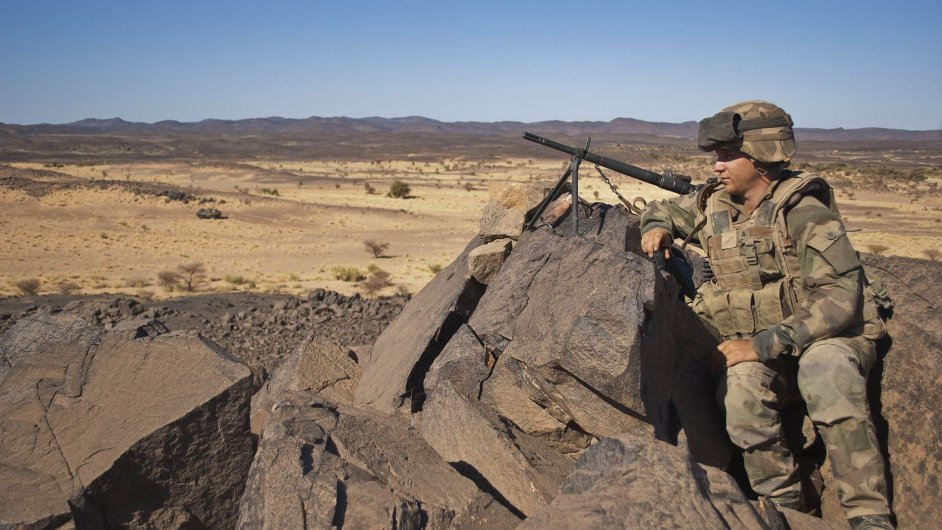 Evropská mise v Mali.