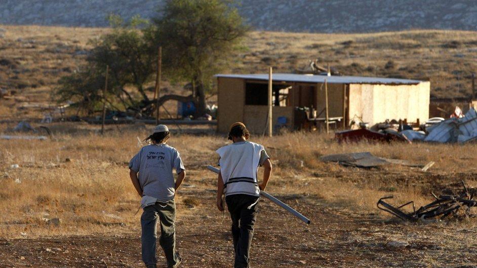 Židovští osadníci na Západním břehu Jordánu