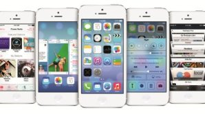 Ofici�ln� sn�mek iOS 7 na iPhone 5