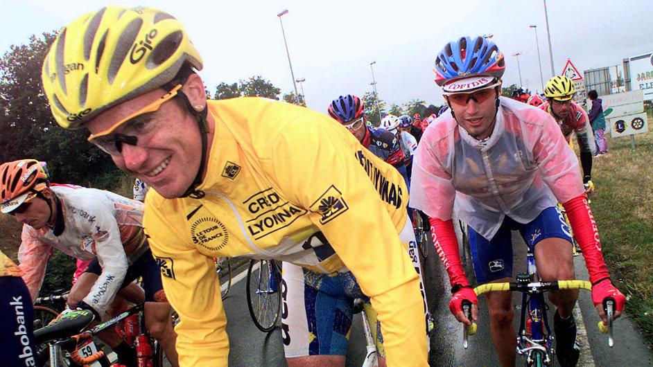 Stuart O'Grady ve své nejlepší formě v roce 1998.
