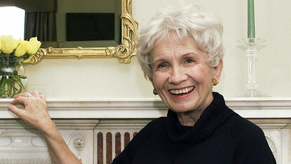 Držitelka letošní Nobelovy ceny za literaturu Alice Munroová