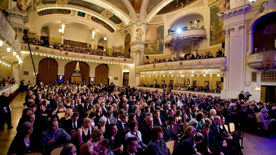 Vloni se jarní galavečer Strun podzimu odehrál v Obecním domě.
