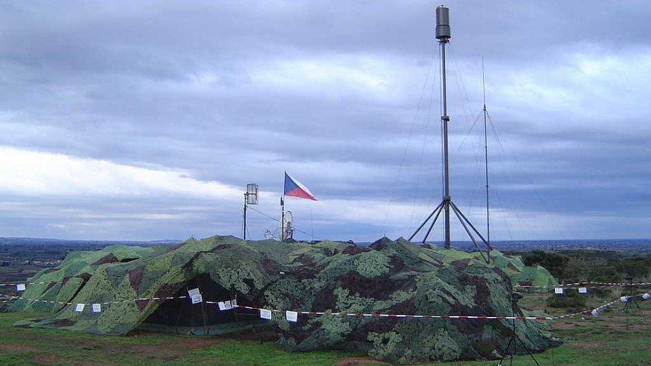Radiolokátor Věra.