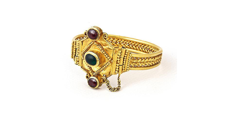 Nejstarší zapůjčené skytské předměty pocházejí až ze 4. století př. n. l.