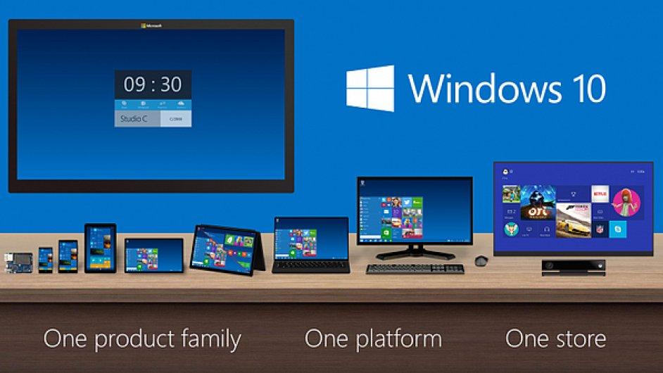 One Windows. Jeden systém vládne všem