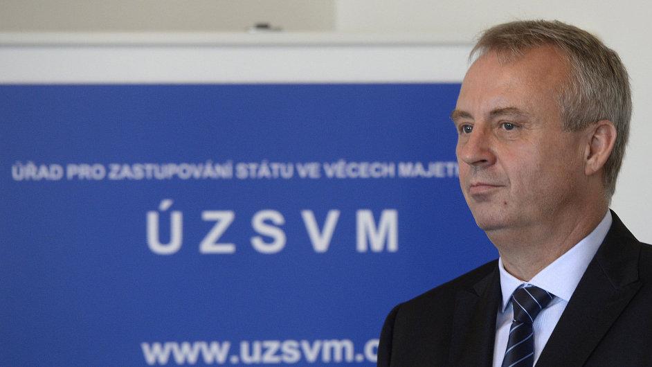 Odvolaný generální ředitel Úřadu pro zastupování státu ve věcech majetkových František Dittrich