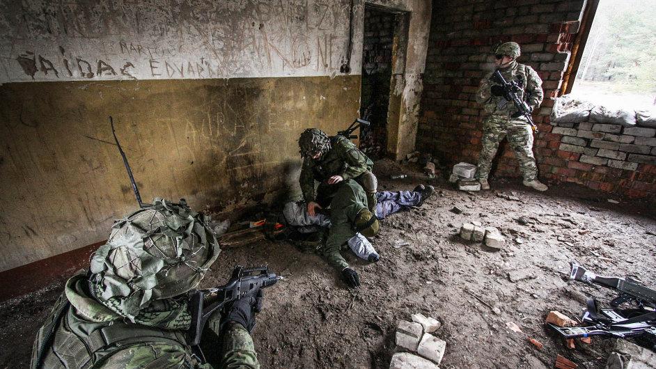 Elitní litevské jednotky Železný vlk cvičí pravidelně s americkou armádou.