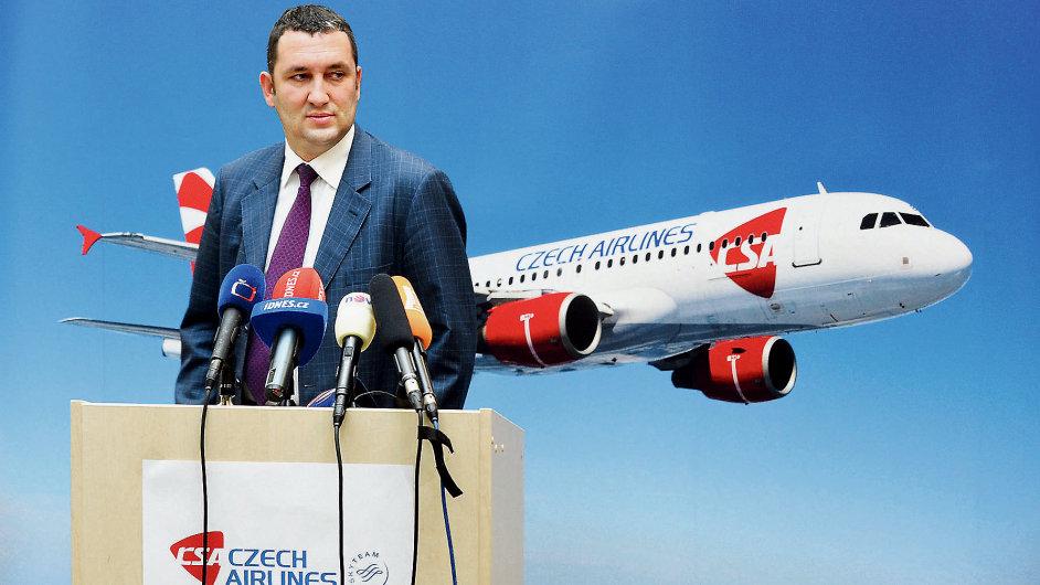 Ředitel Českého Aeroholdingu Miroslav Dvořák.