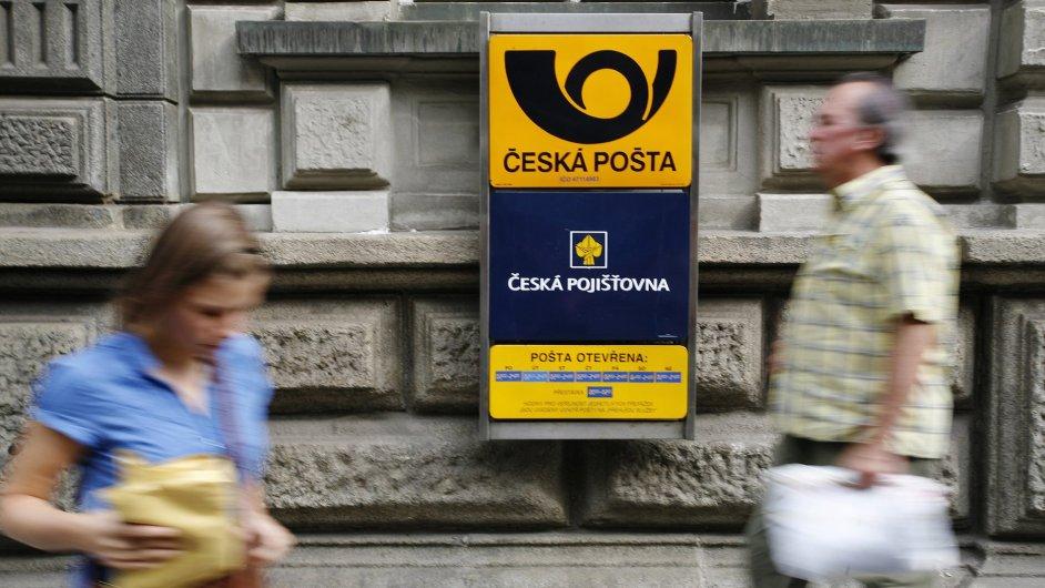 Česká pošta, Česká pojišťovna - Ilustrační foto.