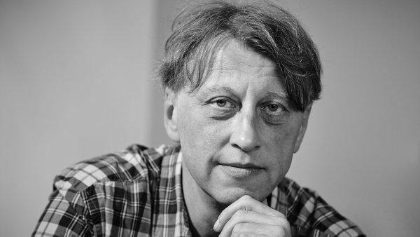 Jáchym Topol cenu ve Vilenici převzal v sobotu večer.