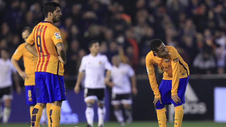Barcelona v sobotu jen remizovala s Valencií a tím řada sázkařů přišla o své vsazené peníze.