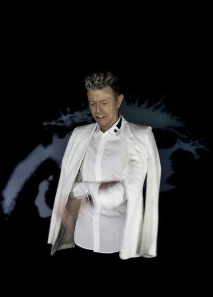 David Bowie na snímku k albu Blackstar.