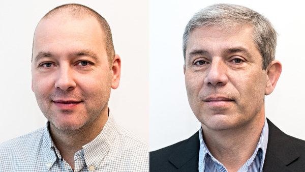 Tomáš Koudelka a Petr Poláček, novými řediteli developera Central Group
