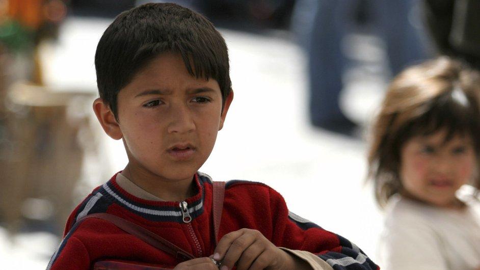 Romské dítě - Ilustrační foto