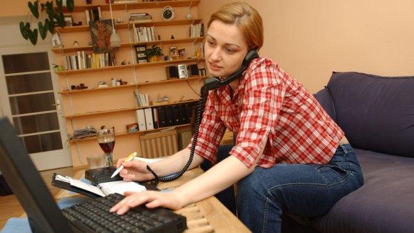 Při práci z domova nesmí zaměstnanci kolegům chybět - Ilustrační foto.