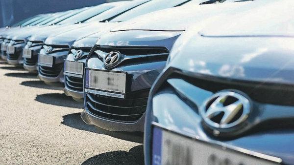 Automobilce Hyundai se v Evropě loni dařilo - Ilustrační foto.