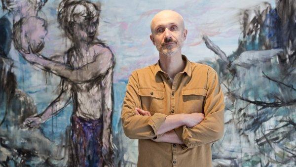 Snímek z výstavy Josefa Bolfa.
