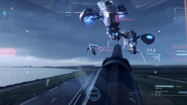Snímek z traileru na film Kill Switch.