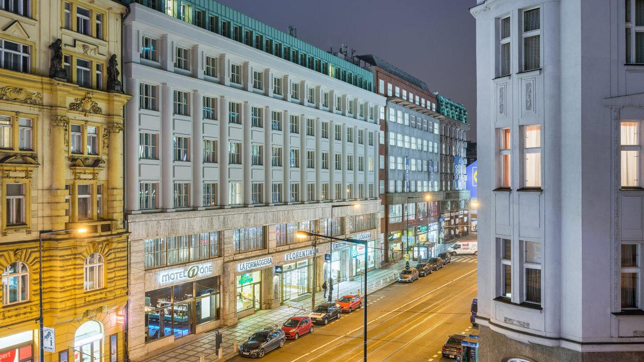 3 mA sto Motel One Praha 1