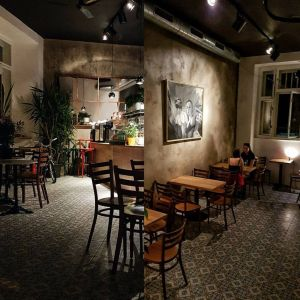 Kavárna Plečnik na pražských Vinohradech