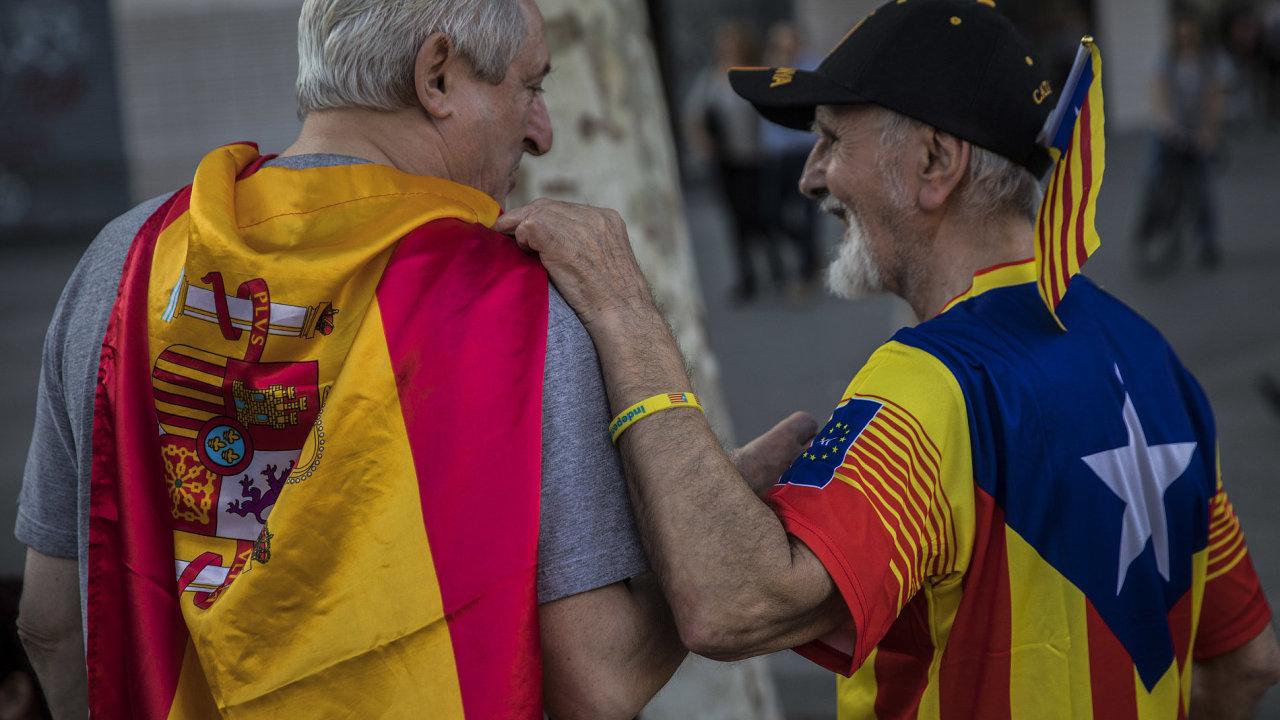 O dalším osudu Katalánska by měly rozhodnout lednové regionální volby. Alespoň podle představ hlavních španělských stran - ilustrační foto