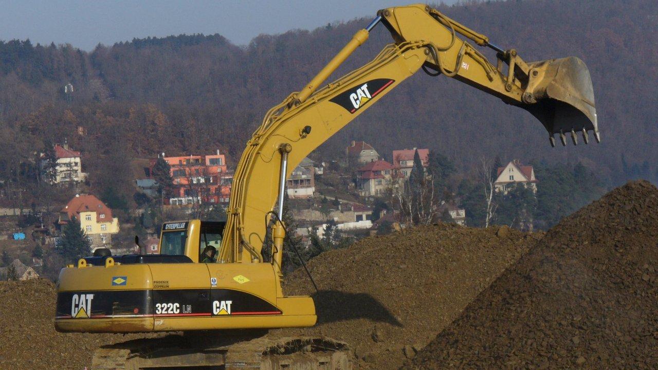 Stavebnictví zažilo největší propad za dva roky