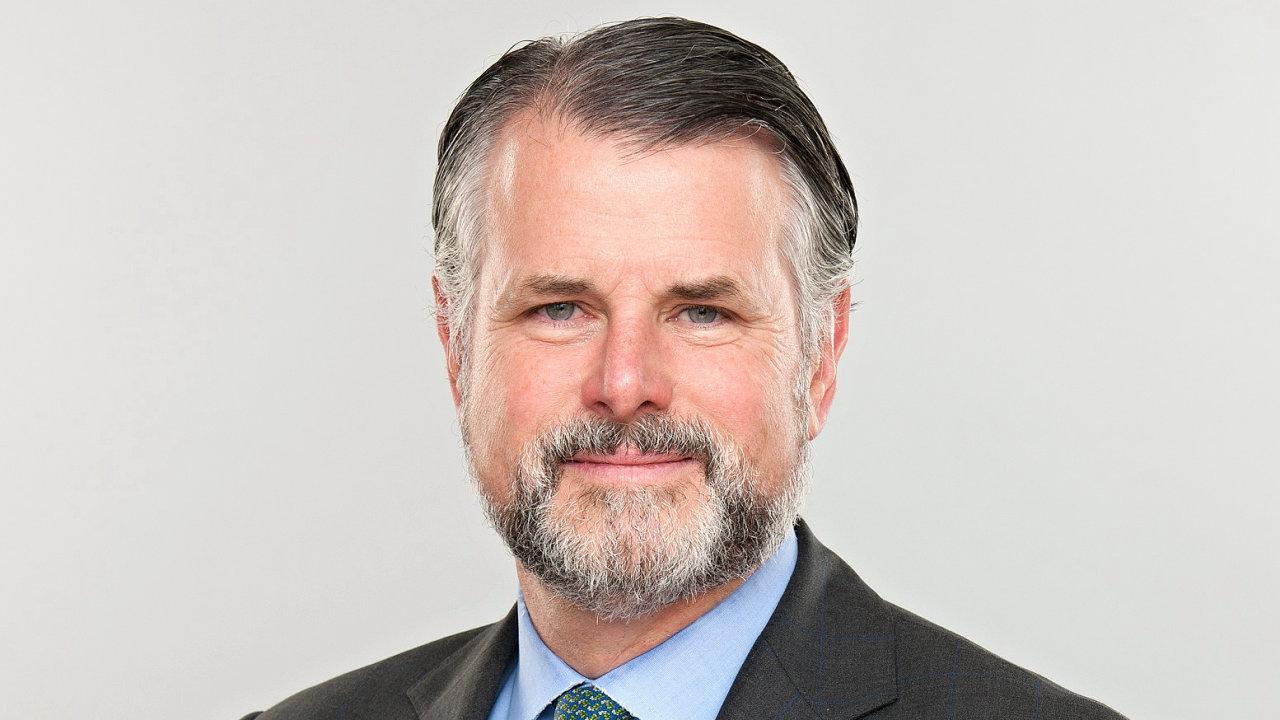 Iain Mackay, finanční ředitel farmaceutické společnosti GSK