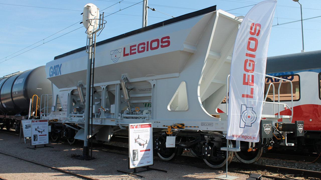 Vůz společnosti Legios.