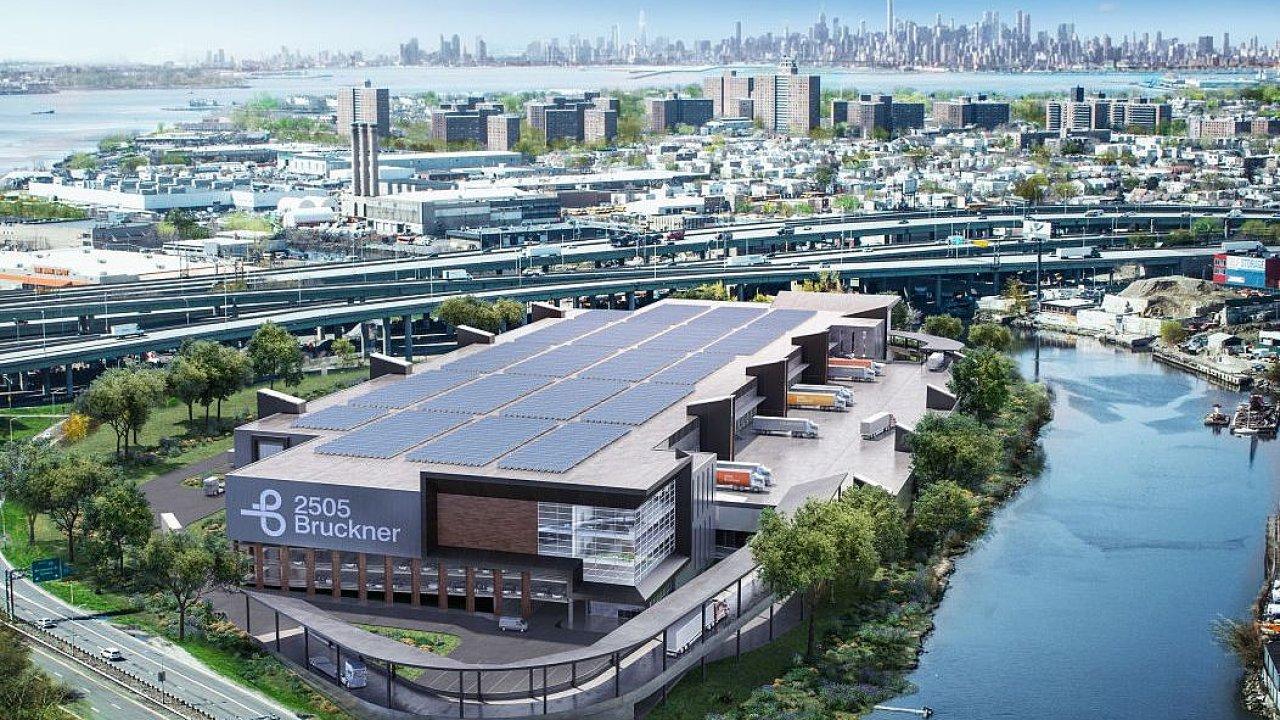 Na místě starého divadla v Bronxu má vzniknout dvoupodlažní sklad s téměř 900 parkovacích stání.