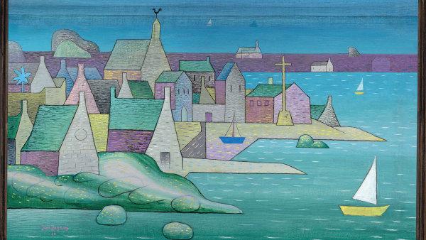 Volfův revír: České moře je v Bretani. Výstava v paláci Kinských mapuje vášeň českých malířů pro nejzápadnější výčnělek Francie