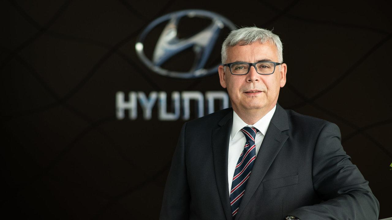 Martin Saitz - šéf Hyundai Motor Czech