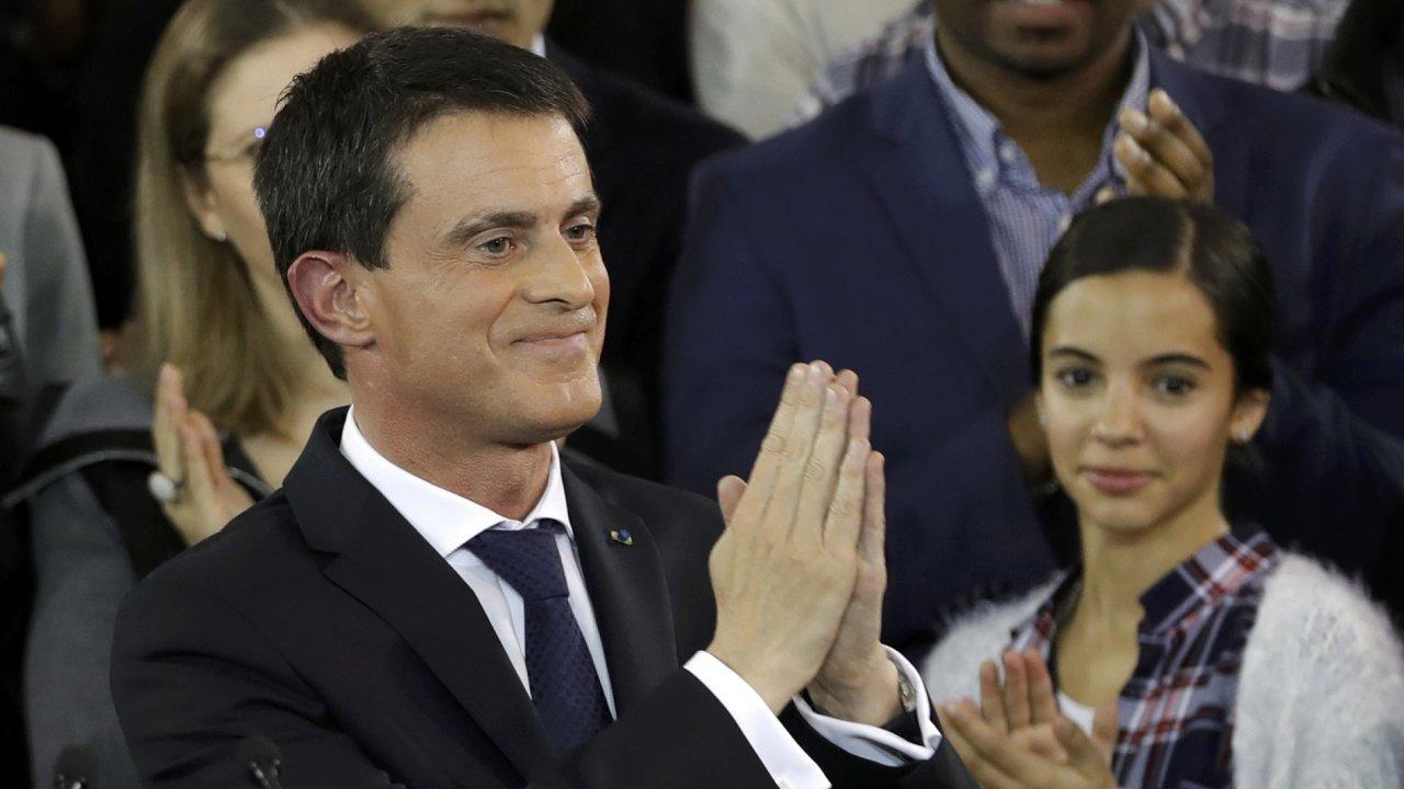 Bývalý francouzský premiér Manuel Valls.