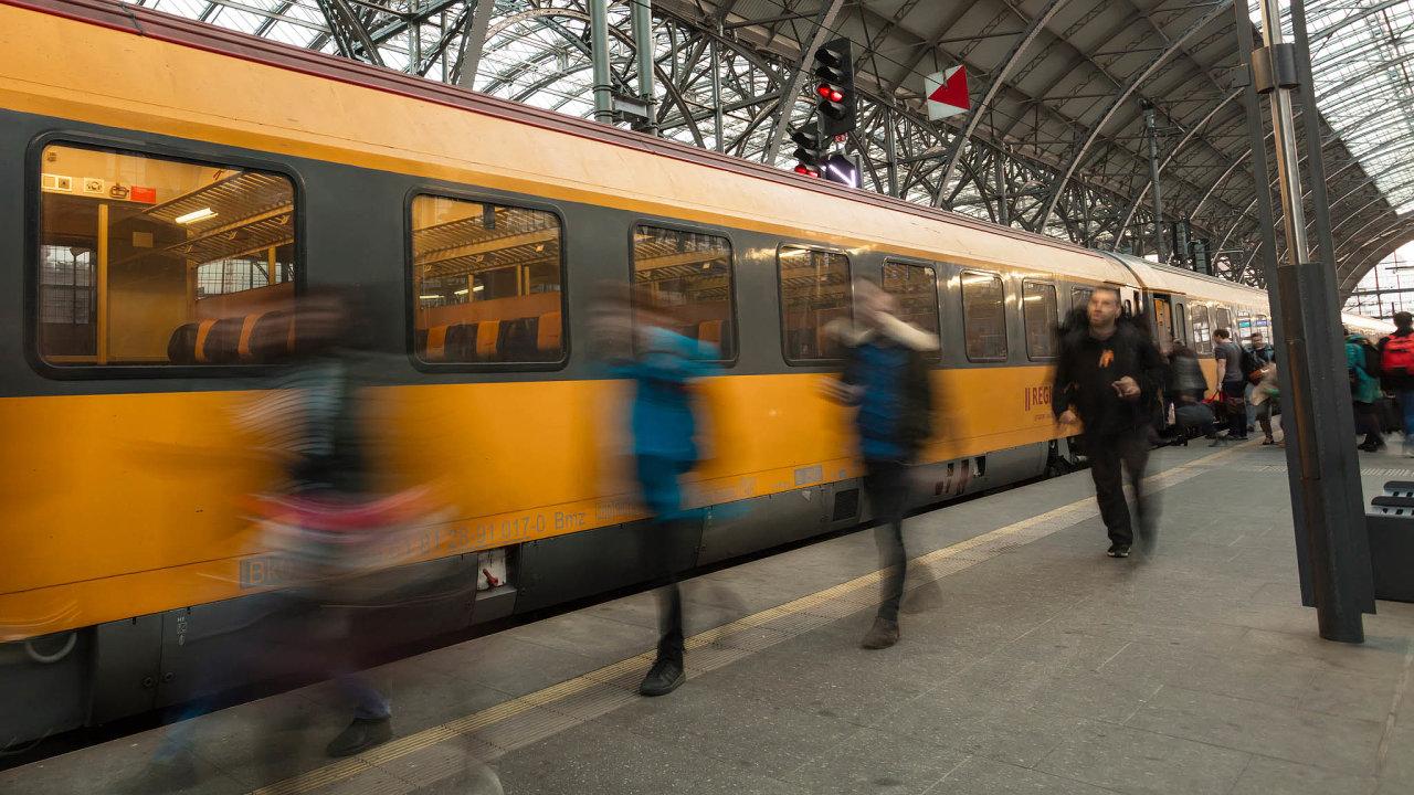 RegioJet v pololetí rostl rychlejším tempem, o12 procent na3,1 milionu cestujících.