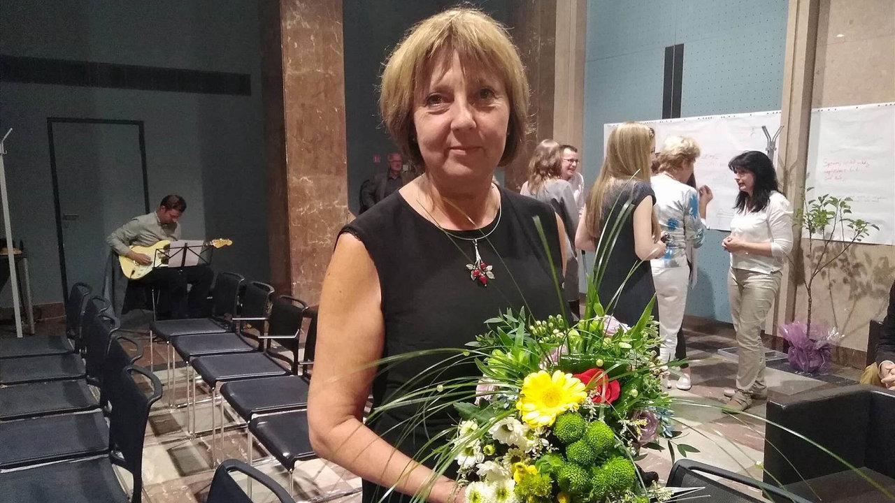 Nejlepší učitelka. Před dvěma lety získala Jana Kopecká jako první tuzemský pedagog českou Global Teacher Prize pro nejlepšího učitele.