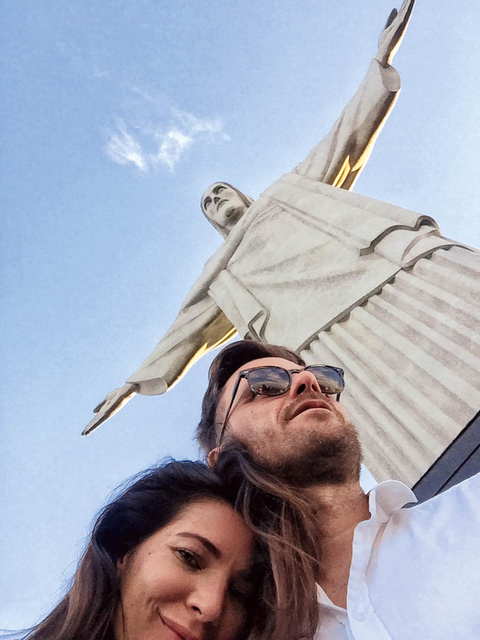 Socha Krista Spasitele vRio de Janeiro