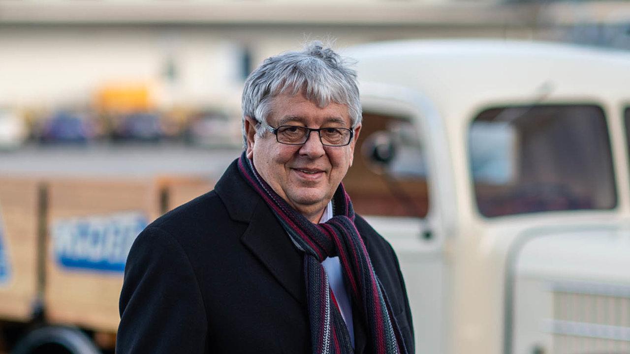 Milan Teplý, generální ředitel mlékáren Madeta.