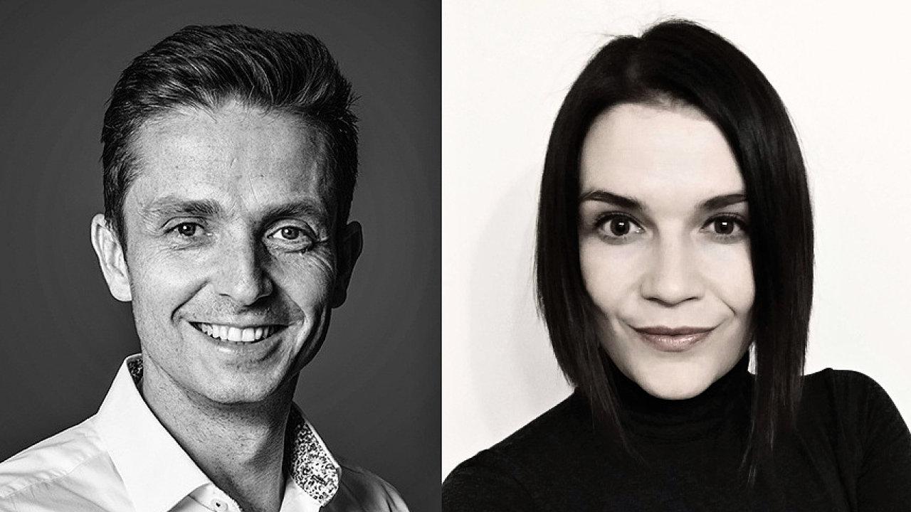Martin Dolanský a Michaela Bartošová, online pojišťovací služba RIXO.cz