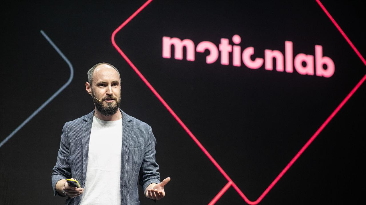 Šéf společnosti Motionlab Jan Sekerka