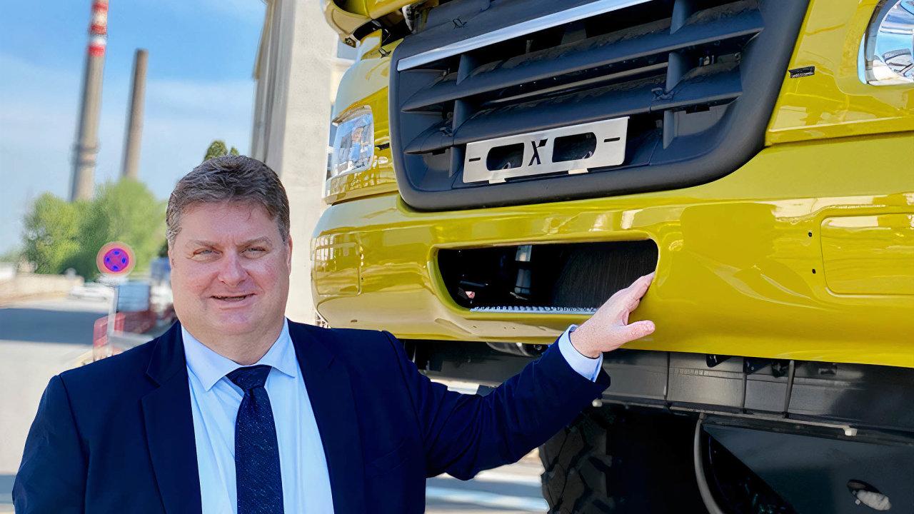 Pavel Lazar, generální ředitel společnosti Tatra Trucks