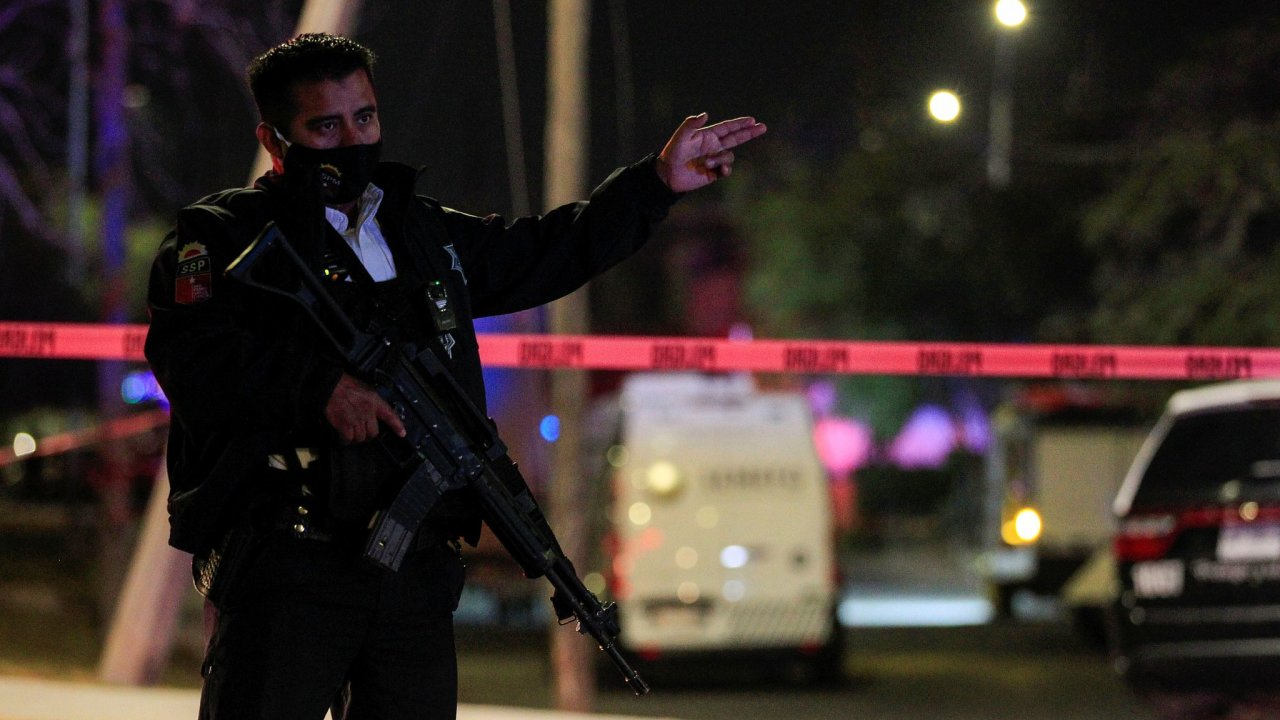 Mexiko, Policie