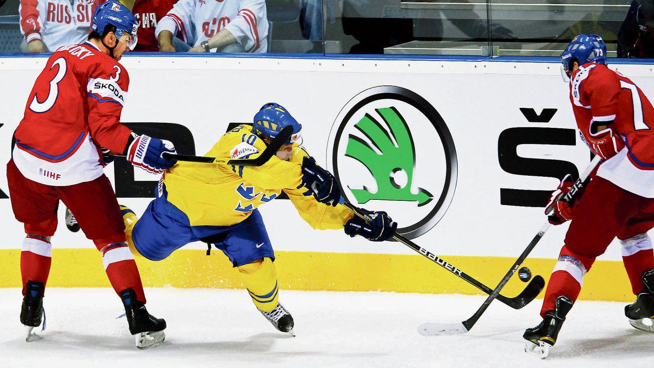 Hlavním partnerem hokejového šampionátu je už dvacet osm let mladoboleslavská Škoda Auto.