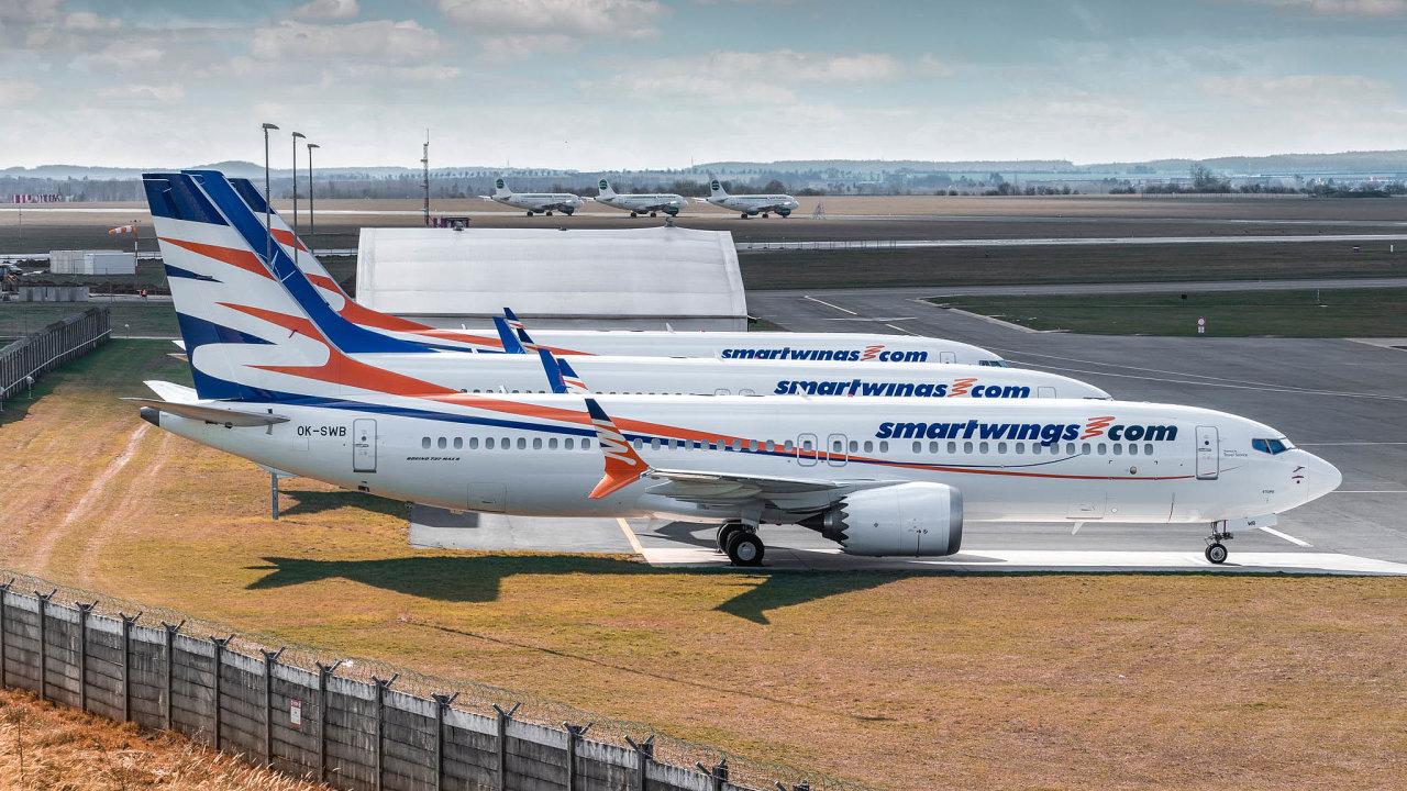 Letouny Boeing 737 MAX české společnosti Smartwings opět vzlétnou. První už v únoru.
